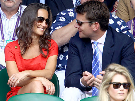 Pippa Middleton Gets Cozy with Her Ex, Alex Loudon, at Wimbledon