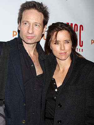 Tea Leoni, David Duchovny Separate