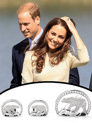 Prince William, Kate Receive Diamond Polar Bears