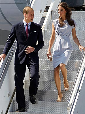 Prince William, Kate Middleton Arrive in America