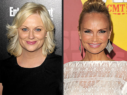Emmy Nominations: Amy Poehler and Kristin Chenoweth Celebrate