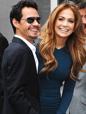 Jennifer Lopez, Marc Anthony: American Music Awards Attendees