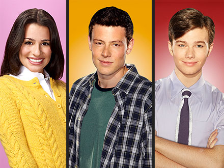 Glee: Lea Michele, Cory Monteith, Chris Colfer Not Leaving