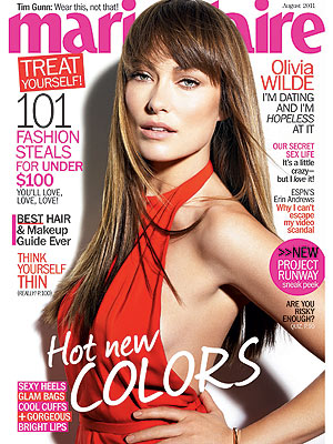 Olivia Wilde on Tao Ruspoli Divorce in Marie Claire