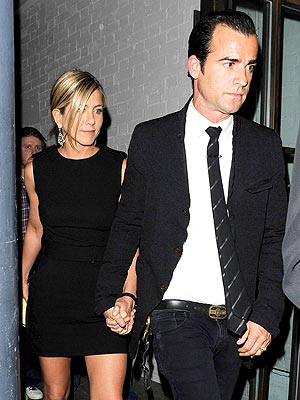 Jennifer Aniston & Justin Theroux: From Costars to Engaged Couple