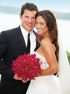 Vanessa Minnillo and Nick Lachey's Wedding Photos