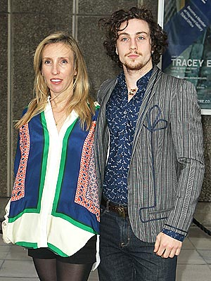 Aaron Johnson, Sam Taylor-Wood Pregnant
