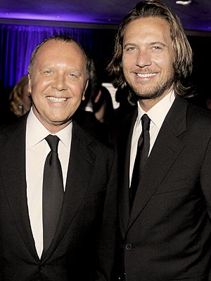 Family photo of the designer, married to Lance LePere,  famous for Michael Kors Holdings Limited (KORS).