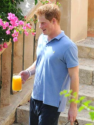 Prince Harry in Majorca