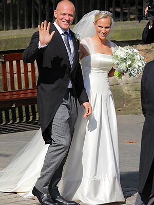 Zara Phillips, Mike TIndall Married -- but No Honeymoon