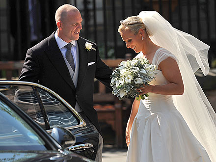Zara Phillips Marries Mike Tindall in Scotland