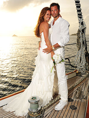 Brooke Burke Married David Charvet -- All the Wedding Details