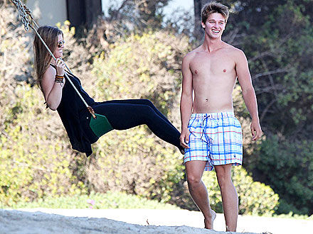 Patrick Schwarzenegger's Day at the Beach