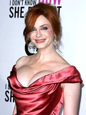 Christina Hendricks on Cooking, Marriage and Babies