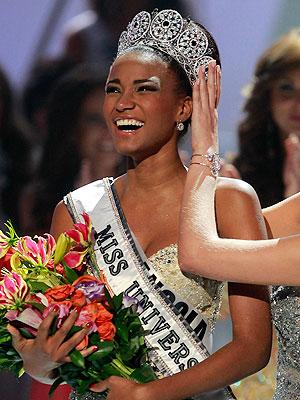 Angola's Leila Lopes Miss Universe 2011