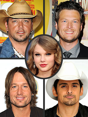Taylor Swift, Brad Paisley, Blake Shelton Join CMA Awards Lineup