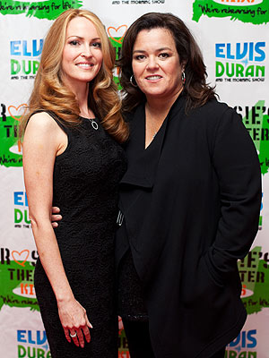 Rosie O'Donnell, Michelle Rounds in Love