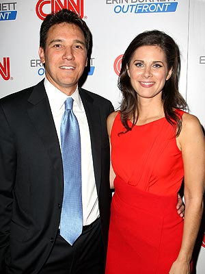 Erin Burnett, David Rubulotta Engaged