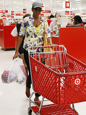 Michelle Obama Shops at Target: Photo
