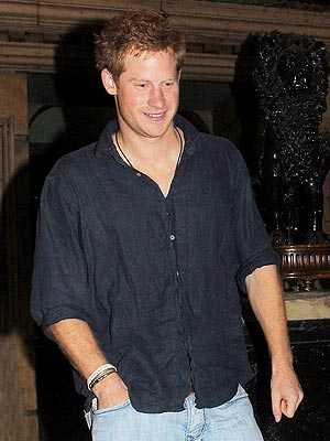 Prince Harry Night Out in California