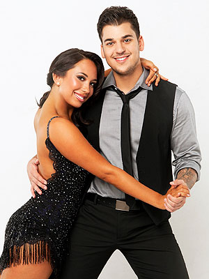 Kim Kardashian's Divorce Not Distracting Rob on Dancing with the Stars