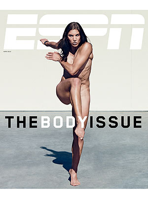 ESPN Body Issue: Hope Solo Naked