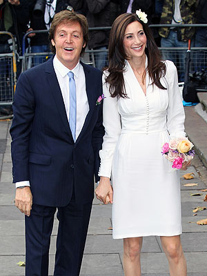 Nancy Shevell, Paul McCartney Married