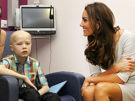 Kate Middleton Sends Letter to Cancer Patient Fabian Bate