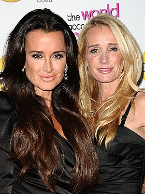 Kyle Richards Visits Sister Kim in Rehab