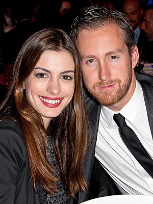 Anne Hathaway Engagement Party in N.Y.C.