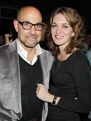 Stanley Tucci & Felicity Blunt Have Formal Wedding Ceremony