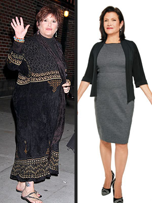Carrie Fisher's Weight-Loss Journey on Jenny Craig