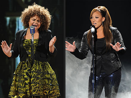X Factor: Melanie Amaro and Rachel Crow Are Frontrunners