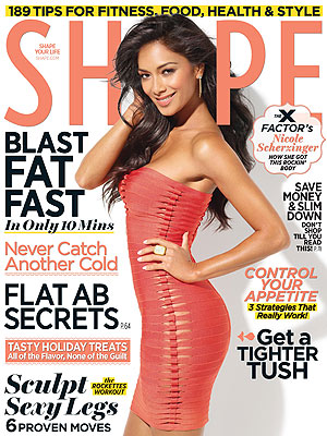 X Factor: Nicole Scherzinger's Body Secrets