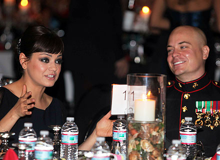 Mila Kunis Attends Marine Corps Ball: All the Details