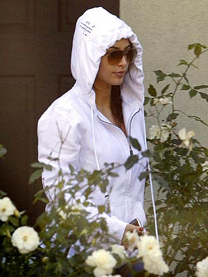 Kim Kardashian Wears 'Love'-Themed Hoodie Mid-Divorce