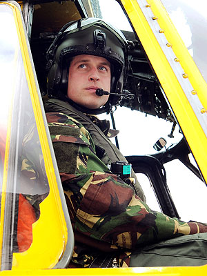 Prince William Rescue Mission in Irish Sea
