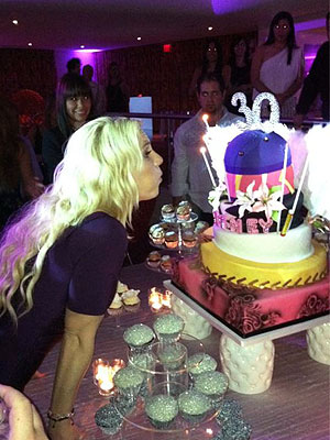 Britney Spears 30th Birthday Party, Ending Tour