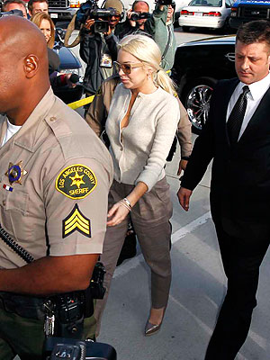 Lindsay Lohan Probation Hearing