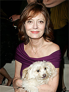 Susan Sarandon's Dog: Future Oscar Winner?