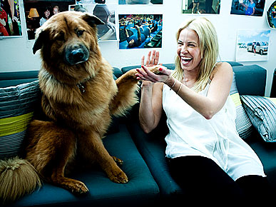 Chelsea Handler Always Has Vodka &#8211; and Chunk &#8211; In Her Dressing Room