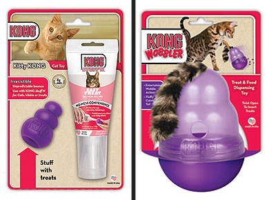 Kitties Will Go Cuckoo For New Kong Toys
