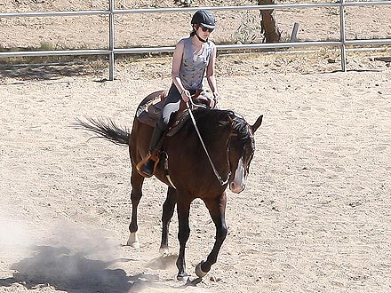 Kristen Stewart Rides a Horse for Snow White and the Huntsman