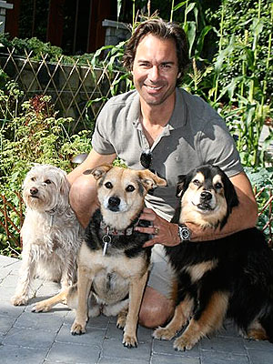 Eric McCormack, 'Pound Puppies' star, Is Proud Dad of Three Rescue Dogs