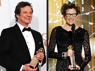 Annette Bening, Colin Firth Win Golden Globes