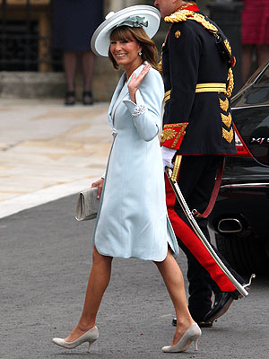 Royal Wedding: Carole Middleton Dress- Kate Middleton & Prince William Wedding