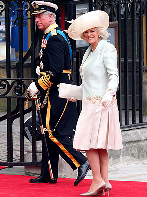 Camilla Parker Bowles Royal Wedding Dress
