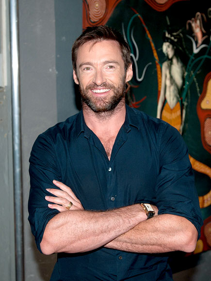 Hugh Jackman Takes a Wild Ride in New Jersey
