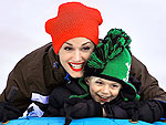 Stars' Favorite Winter Sports! | Gwen Stefani, Kingston Rossdale