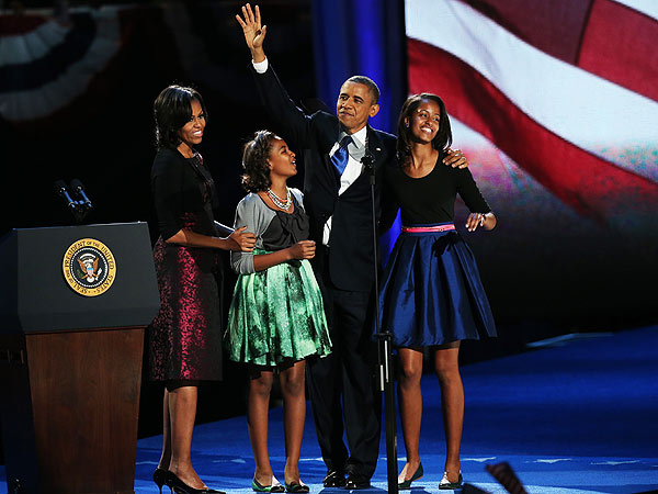 Sasha Obama's Chic Election Night Style